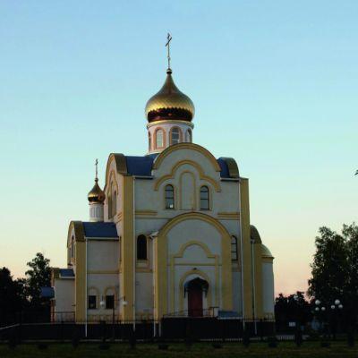 Храм святителя Николая, архиепископа Мир Ликийских (Николы Ратного) в Шебекино