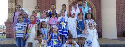В воскресной школе храма Новомучеников и Исповедников Белгородских состоялся выпускной утренник