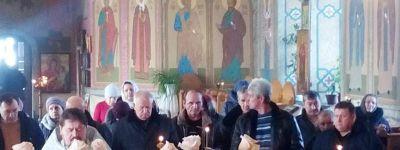 Панихиду по воинам, не вернувшимся из «горячих точек», отслужили в Свято-Ильинском храме в Красном