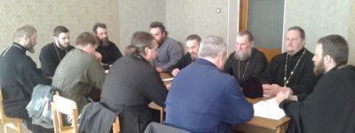 Состоялось собрание духовенства Прохоровского благочиния