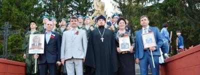 Во всех храмах Ивнянского района в День Победы были отслужены благодарственные молебны