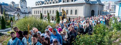 В Белгороде отметили праздник Покрова Божией Матери
