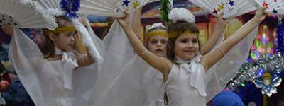 Воспитанники старооскольского Троицкого детского сада поведали о Вифлеемских событиях на утреннике