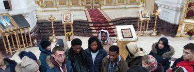 Студенты Медицинского института Белгородского госуниверситета совершили поездку к святыням Валуек