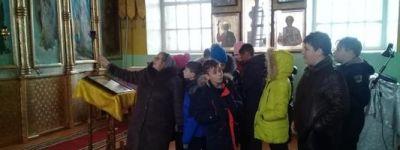Грайворонские школьники совершили поездку в храм Преображения Господня