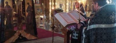 Пассия совершена в Спасо-Преображенском соборе в Губкине