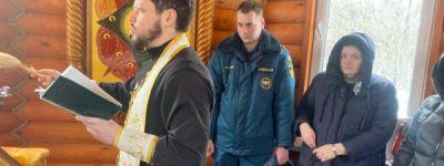 Белгородские спасатели встретили Сретенье Господне