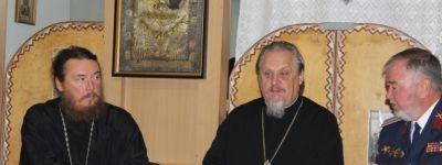 Совещание  казачьих духовников Белгородской митрополии прошло в храме Сергия Радонежского