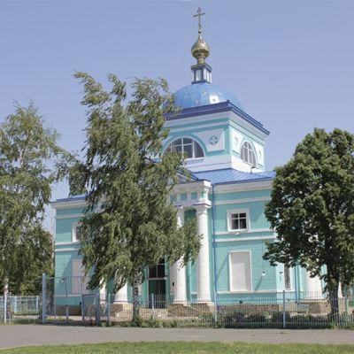 Храм Владимирской иконы Божией Матери в хуторе Новосёловка