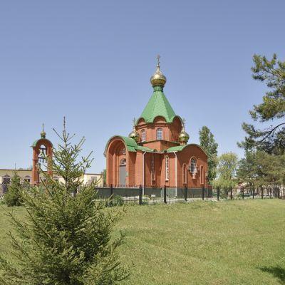 Храм Покрова Пресвятой Богородицы в селе Кустовое