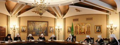 Белгородский митрополит принял участие в заседании Высшего Церковного Совета