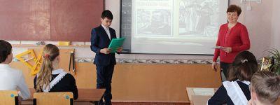 Выставка православной литературы открылась в  библиотеке Шаталовской школы