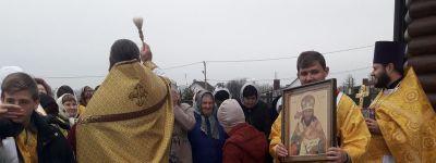 В селе Дмитриевка отметили престольный праздник своего храма
