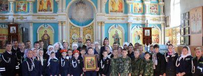 Традиционный православный духовно-патриотический молодежный форум «АСПОС fm» провели в Фощеватово