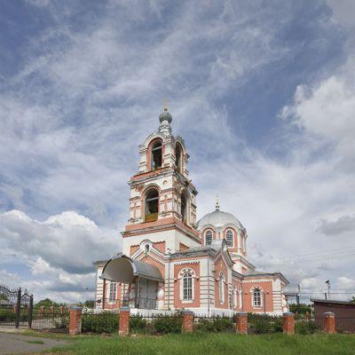 Храм Димитрия Солунского, великомученика в селе Раздорное