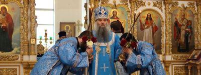 Епископ Валуйский в праздник Благовещения молитвенно отметил день своего тезоименитства