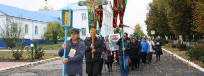 Крестный ход прошёл в Иловке