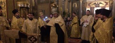 Белгородцы встретили ковчег с мощами святых, прибывший с Украины
