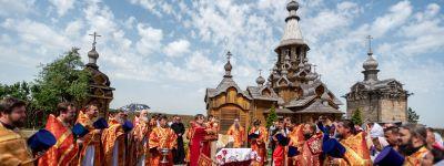 Митрополит Белгородский посетил град Иерусалим Новый с архипастырским визитом