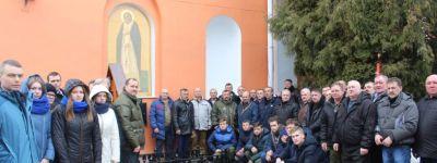 Воины-«афганцы» Ракитянского района вместе помолились в Свято-Никольском храме