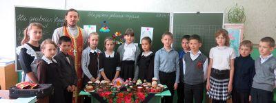 Школьники из Ютановки узнали, откуда пошла традиция красить яйца на Пасху