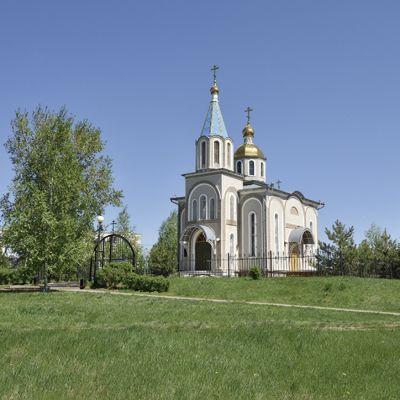 Храм Святителя Николая Чудотворца в селе Ближняя Игуменка