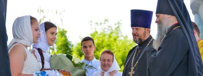 Епископ Валуйский посетил Волоконовское благочиние