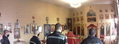 Белгородские священники навестили белгородских заключённых