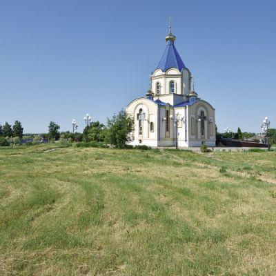 Храм Святых Равноапостольных Мефодия и Кирилла в селе Малые Маячки
