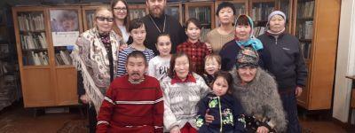 Белгородский священник совершает миссионерскую поездку в Эвенск