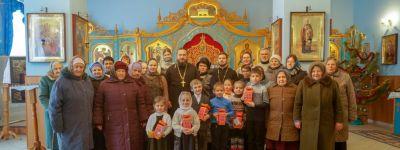 Торжественный концерт, посвященный празднику Рождества Христова, состоялся в храме Покрова Божией Матери в селе Подольхи