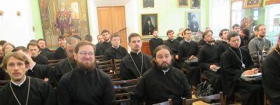 Магистрант Белгородской семинарии и преподаватель богословия выступили с докладами в Московской духовной академии