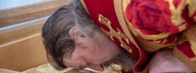 Шестую годовщину обретения святых мощей епископа Белгородского Никодима (Кононова) отметили в Белгородской митрополии