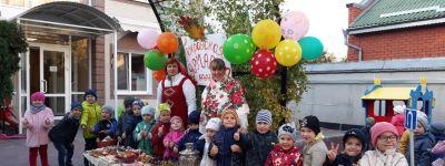Покровскую ярмарку организовали накануне праздника в белгородском православном детском саду