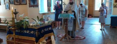 Благодарственный молебен о благополучной сдаче экзаменов учащимися совершили в Вейделевке