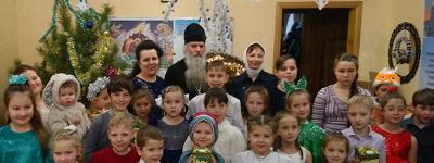 Рождественский праздник с Вифлеемской звездой оставил яркие впечатления в воскресной школе  в Старом Осколе