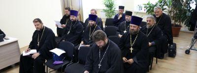 Заседание епархиальных суда и совета состоялось в Валуйской епархии