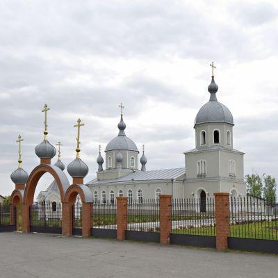 Храм великомученика Димитрия Солунского в селе Скородное