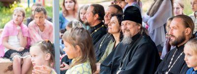 На Рождественском архиерейском подворье открылась детская летняя смена, посвящённая Году театра