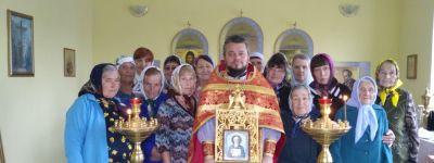 В праздник обре́тения честных мощей Се́ргия Радонежского в Богословке отслужили литургию