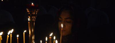 Епископ Губкинский совершил Божественную литургию в Свято-Никольском храме в посёлке Ракитное