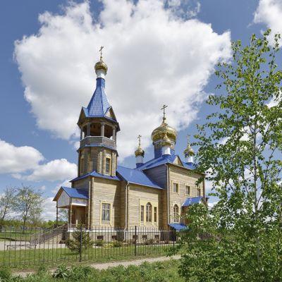 Храм апостола Андрея Первозванного в селе Айдар