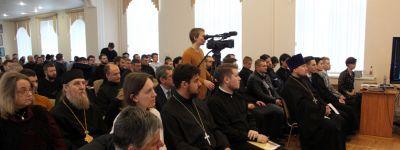 Ректоры двух белгородских университетов участвовали в Первых Международных Иустиновских чтениях, которые завершились в Белгородской духовной семинарии