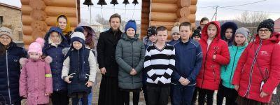 Школьники из Афоньевки, Голофеевки, Борисовки и Пятницкого побывали на экскурсиях в новом храме в Волоконовке