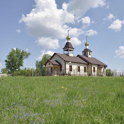 Храм Святителя Николая Чудотворца в селе Нижние Пены