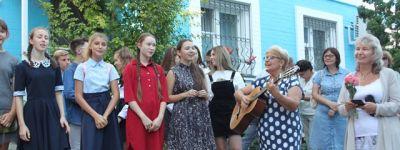 В Воскресной школе Смоленского Собора провели приходское собрание и общешкольную линейку