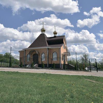Храм Вознесения Господня в селе Богатое
