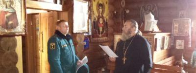Белгородские спасатели на Пасху дежурили у всех храмов митрополии
