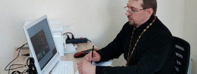 Синодальный вебинар «Участие епархий в Международном этапе образовательных чтений Русской православной церкви» посетил губкинский священник