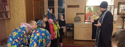 Занятие на тему «Вход Господень в Иерусалим прошло в православном клубе «Благовест» в Яковлевском благочинии
